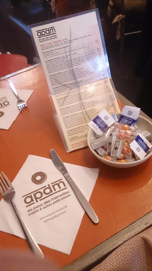 menu bagels