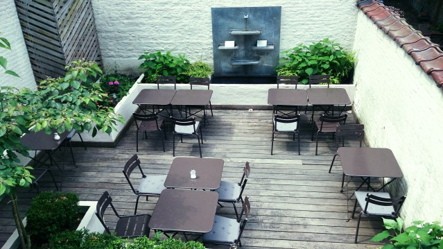 jardin café terrasse