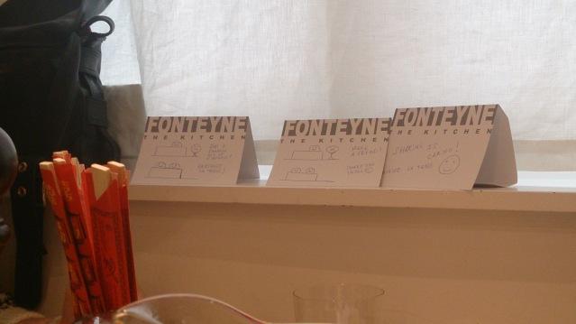 fonteyne tongres table d'hotes