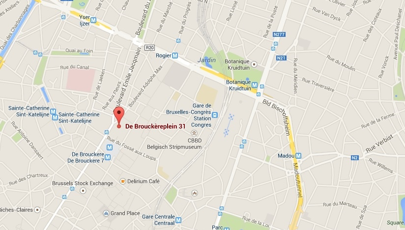 café metropole map