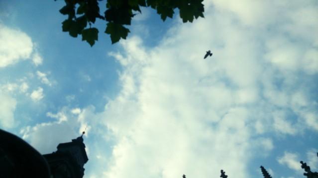 Sky at place de la Chapelle