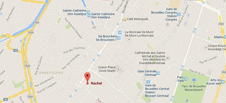 map rachel