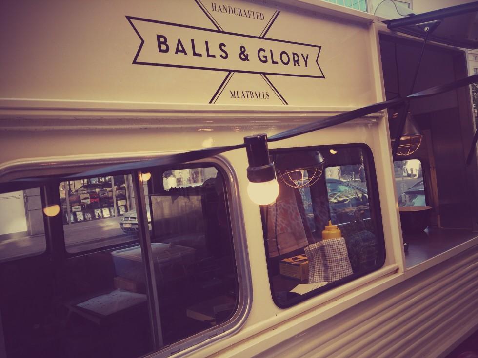 balls & glory foodtruck