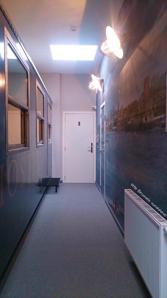 corridor train hostel