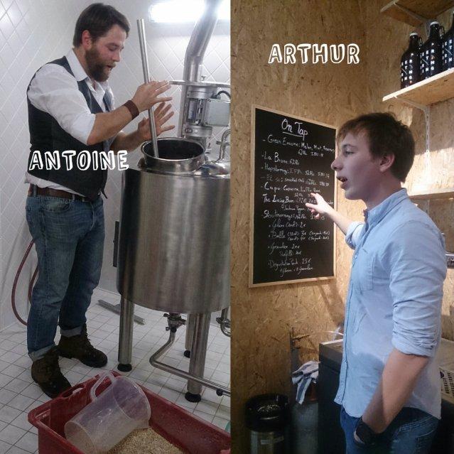 antoine et arthur beerstorming
