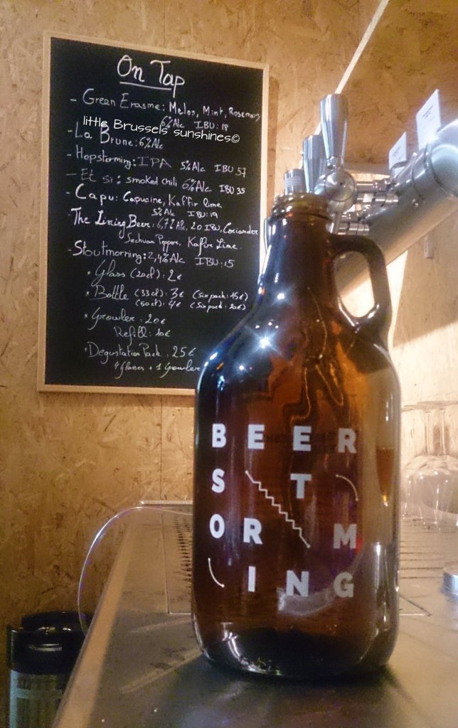 The growler I love Le bouteillon que j'adore
