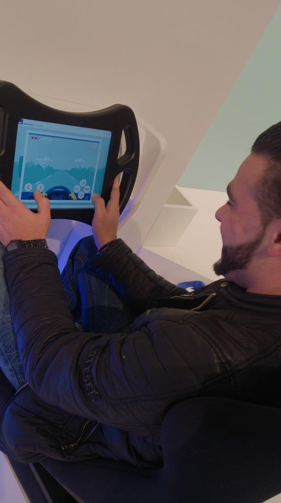 Le jeu Reflex Driver de AXA pour gagner une Bmw i3!