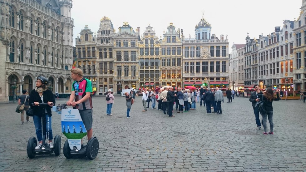 segway grand place