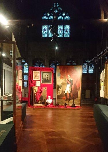 La sixième section de l'expo dédié aux institutions belges